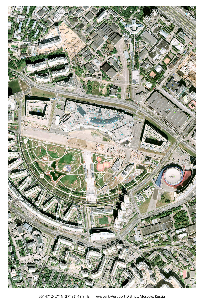 Aviapark-Aeroport District, Moscow, Russia