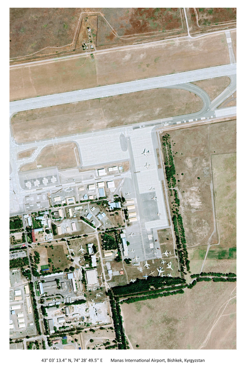 Manas International Airport, Bishkek, Kyrgyzstan