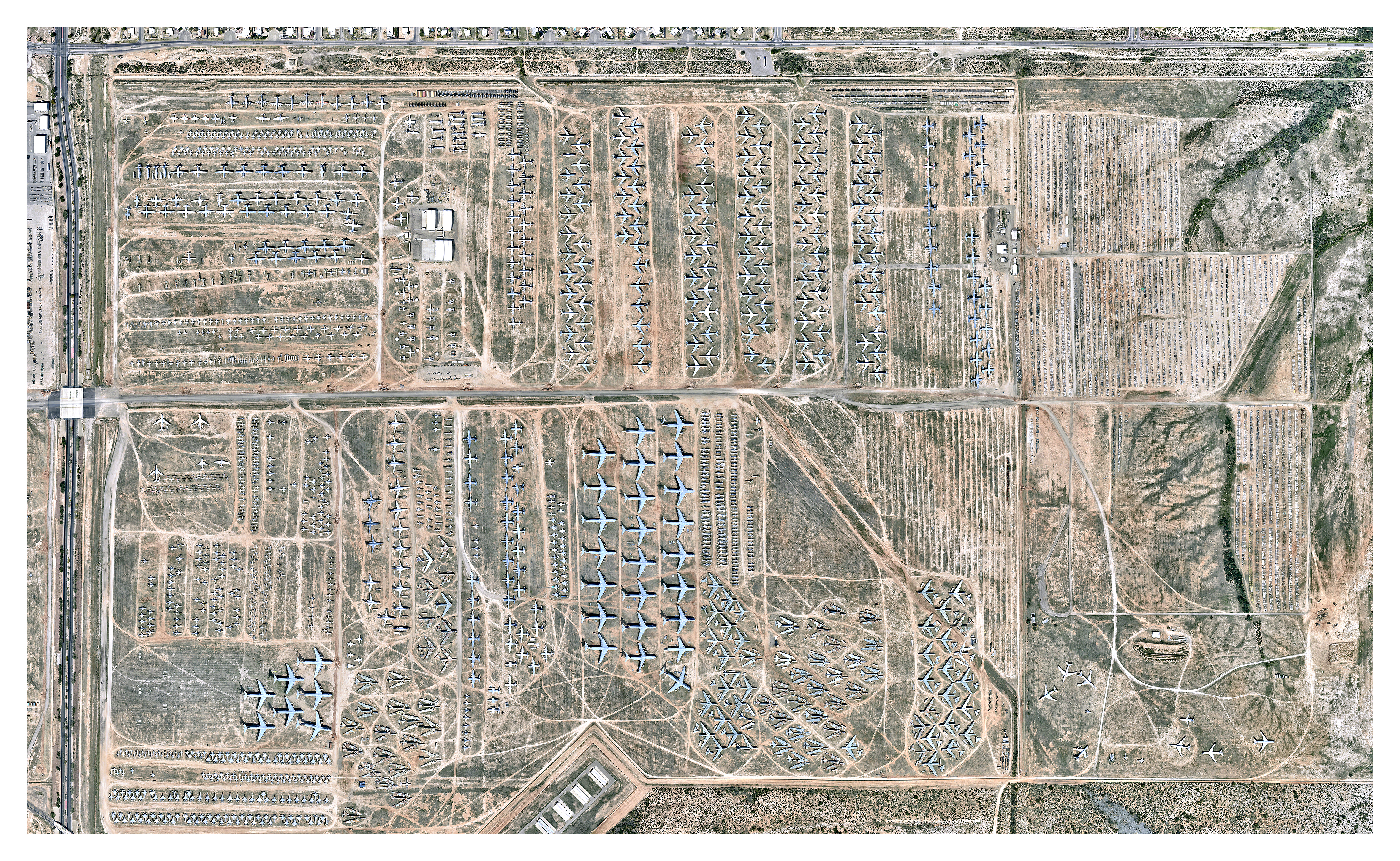 Aircraft boneyards